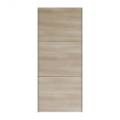 "Porte Coulissante Dressing 100cm ""Facility"" Naturel"
