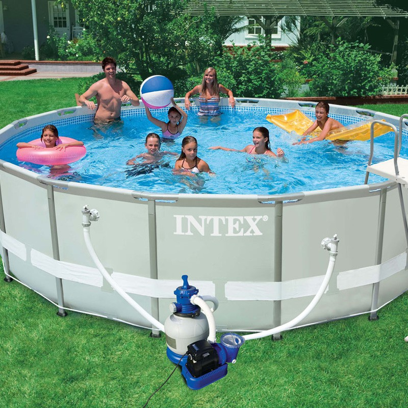 Piscine hors sol tubulaire ultra blanc for Piscine hors sol de qualite