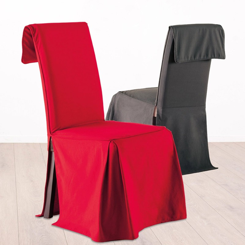 Housse de chaise rouge for Chaise rouge