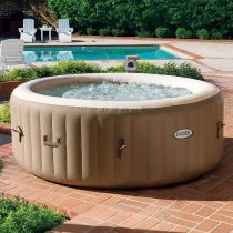Spa Gonflable 4 Places Rond 795L Beige
