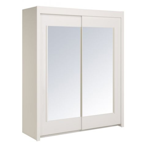 "Armoire Portes Coulissantes ""Galaxy"" Blanc"