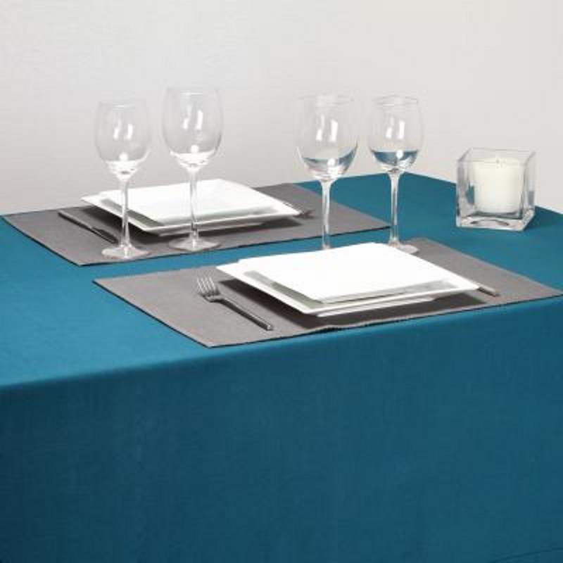 set de table 33x47cm c tel gris. Black Bedroom Furniture Sets. Home Design Ideas