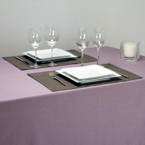 "Set de Table 33X47cm ""Côtelé"" Taupe"