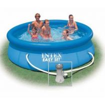 "Kit Piscine Hors-Sol Autoportante ""Easy"" 305x76cm Bleu"