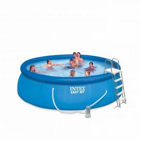 "Piscine Hors-Sol ""Easy Set"" 488cm Bleu"