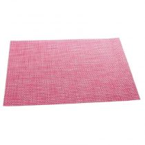 "Set de Table ""Texaline"" Rectangulaire Rose"