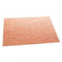 "Set de Table ""Texaline"" Rectangulaire Orange"