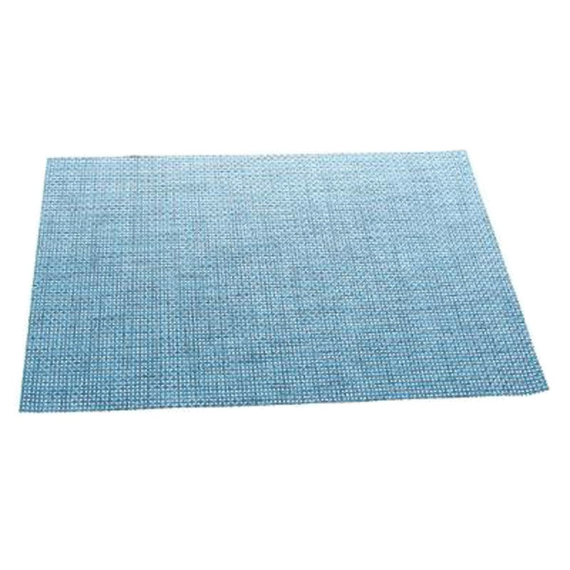Set de table texaline rectangulaire bleu for Set de table bleu