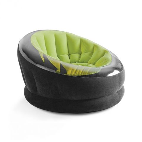 """Fauteuil Gonflable """"Onyx"""" Vert"""