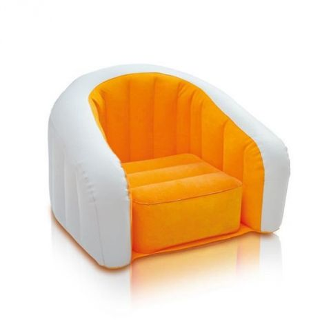 "Fauteuil Gonflable ""Club"" Orange"