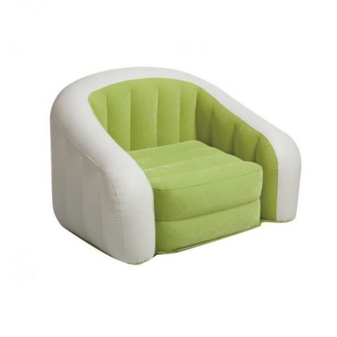 """Fauteuil Gonflable """"Club"""" Vert"""