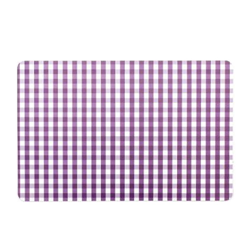 Set de table 28x43cm vichy violet for Set de table violet