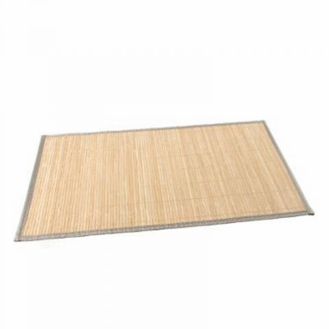"Set de Table 30x45cm ""Bambou Naturel"" Beige"
