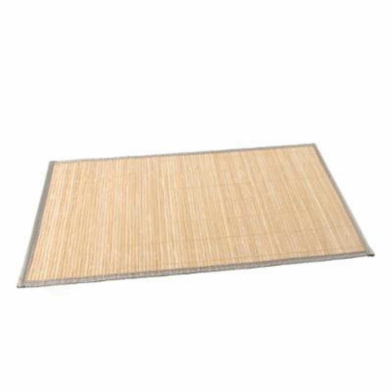 Set de table 30x45cm bambou naturel beige for Set de table en bambou