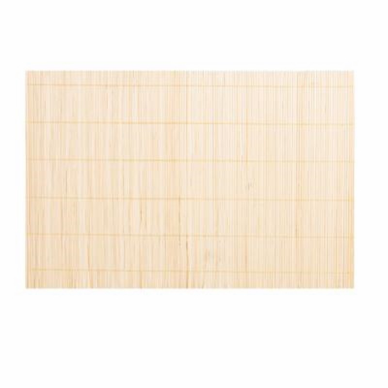 Set de table 30x45cm bambou beige for Set de table en bambou
