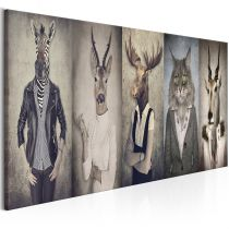 "Tableau Imprimé ""Animal Masks"""
