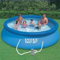 "Kit Piscine Hors-Sol Autoportante ""Easy"" 366x76cm Bleu"
