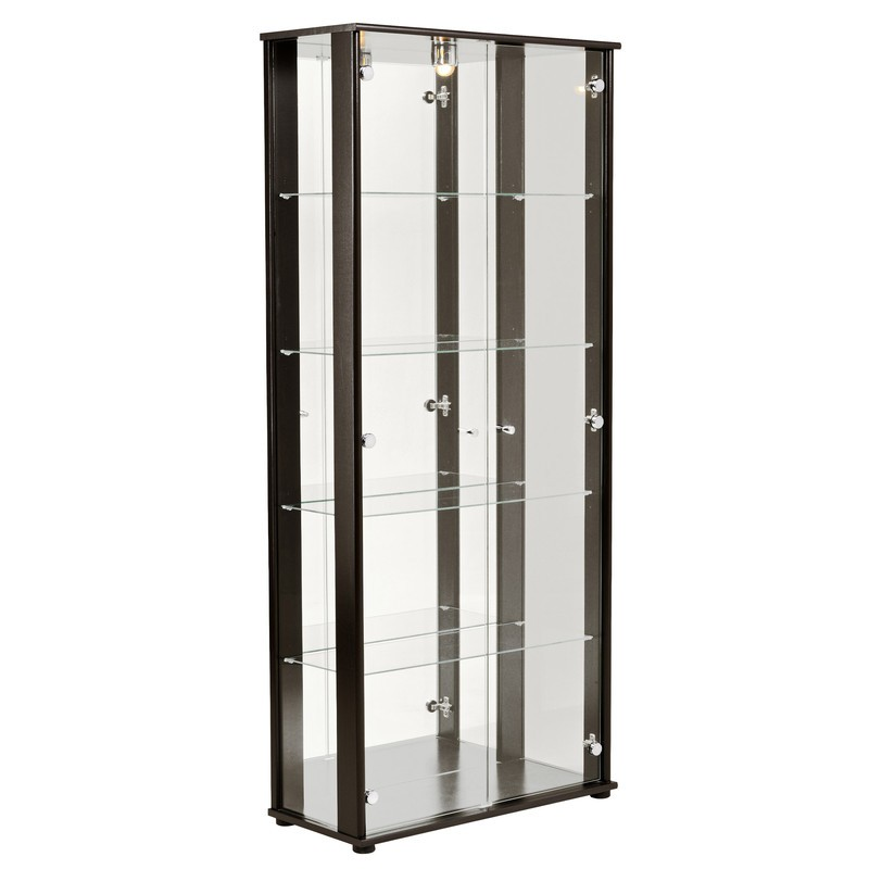 ordinary etagere en verre ikea 5 vitrine avec spot onyx. Black Bedroom Furniture Sets. Home Design Ideas