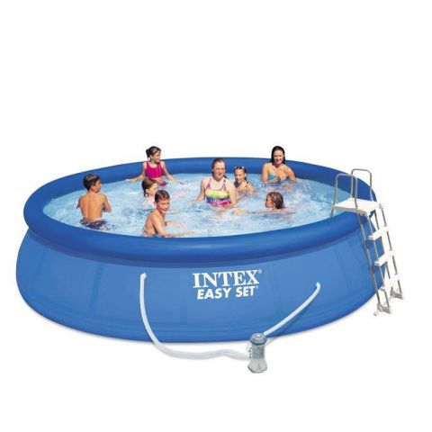 "Piscine Hors-Sol ""Easy Set"" 457cm Bleu"