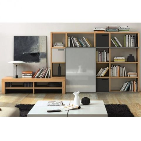 Temahome tag re biblioth que meuble tv pombal ch ne for Meuble etagere tv