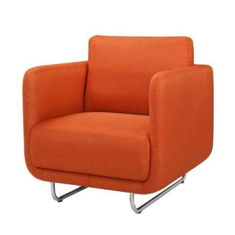 "Fauteuil ""Run"" Orange"