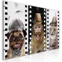 "Tableau Imprimé ""Funny Pets Collection"""