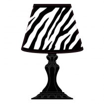 "Sticker 3D ""Lampe Baroque"" Led n°2"