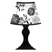 "Sticker 3D ""Lampe Baroque"" Led n°3"