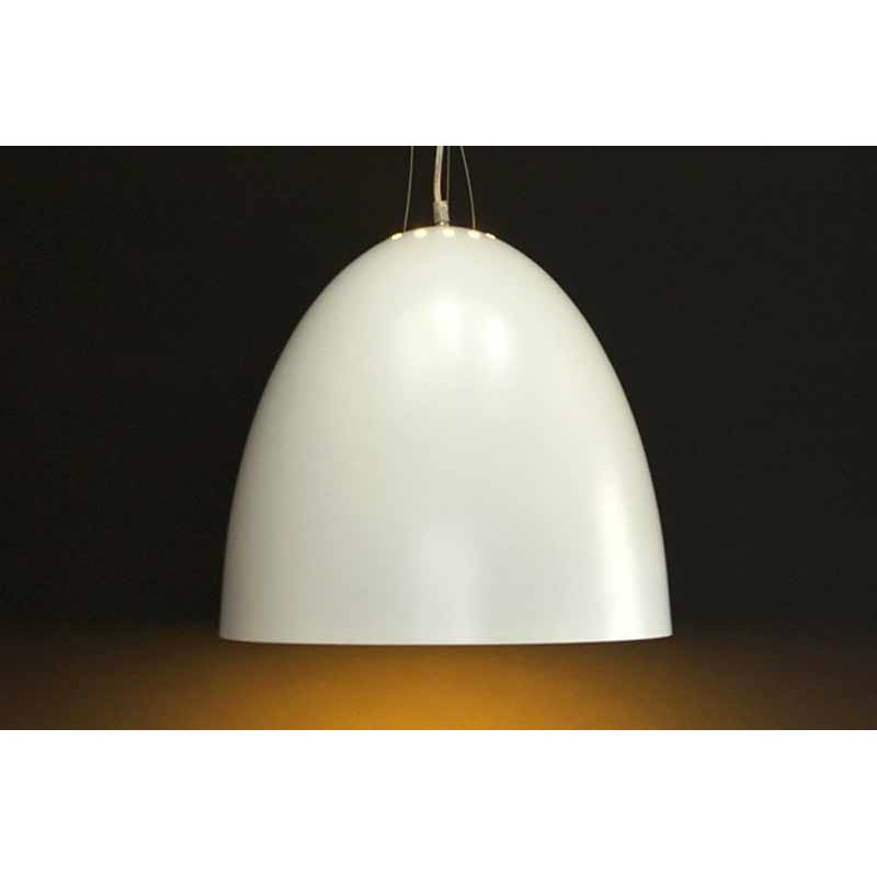 Lampe suspension spot blanc for Suspension de lampe