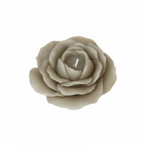 "Bougie Fantaisie ""Rose"" 200gr Marron"