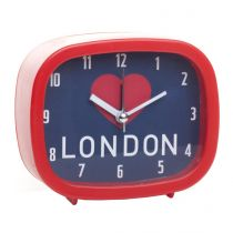 "Réveil City ""I Love London"" Rouge"