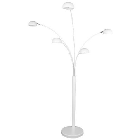 "Lampadaire Design ""Five"" 200cm Blanc"