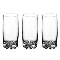 "Lot de 3 Verres ""Sylvana"" Transparent"