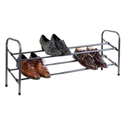 range chaussures extensible 10 paires gris. Black Bedroom Furniture Sets. Home Design Ideas