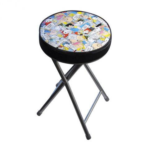 "Tabouret Pliable ""Snoopy"" Multicolore"