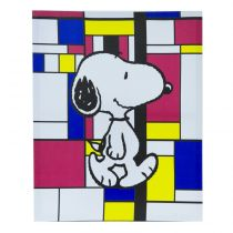 "Cadre Toile ""Snoopy"" 40x50cm n°3"