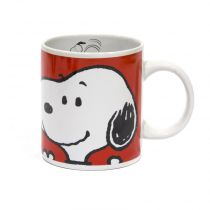 "Mug Coffret ""Snoopy"" Rouge"