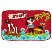 "Tapis Velours ""Pirate"" 45x75cm"