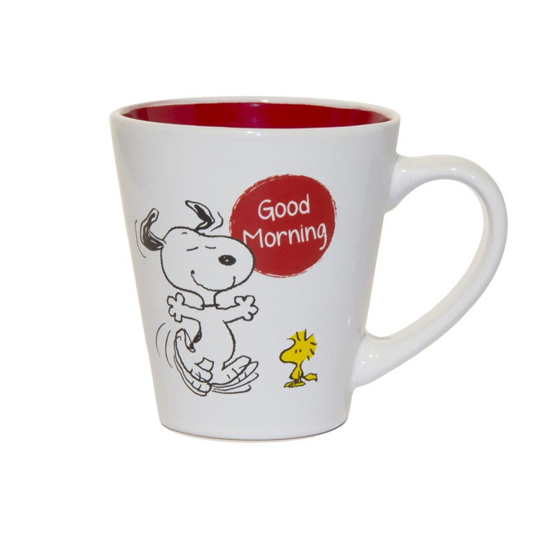 mug snoopy blanc paris. Black Bedroom Furniture Sets. Home Design Ideas
