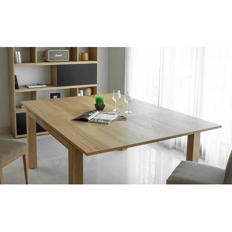 Table de salle manger extensible nathan 140 190cm for Table de salle a manger 140 cm