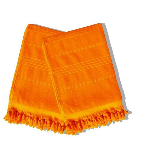 Serviette de Hammam 90x160cm Orange