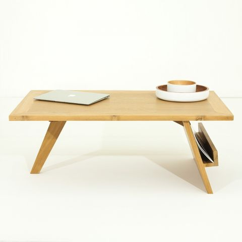 "Table Basse ""Pokara"" Beige"