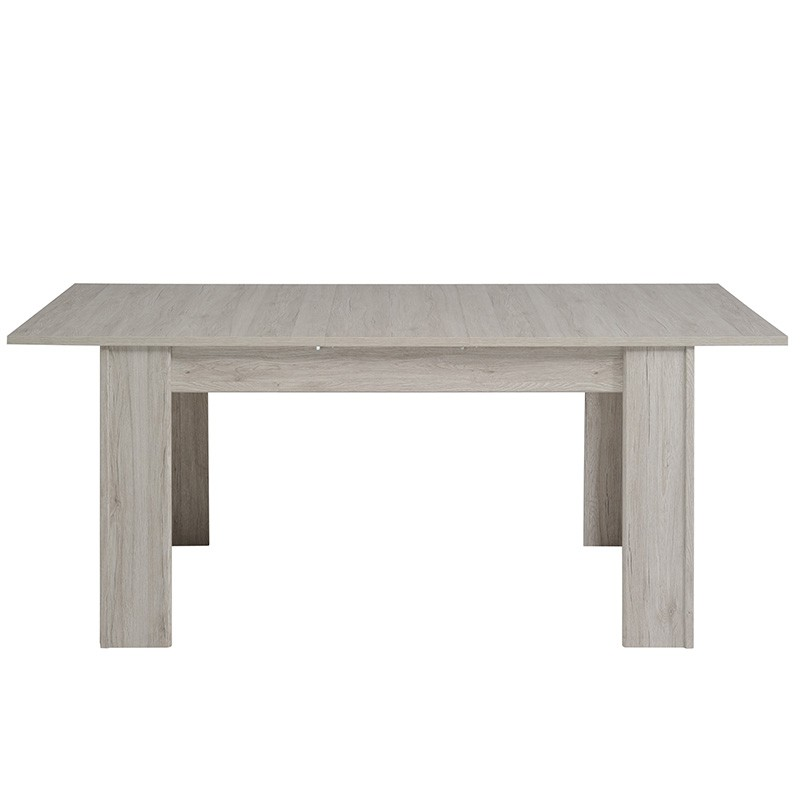 Table de salle manger extensible bellissimo gris for Table de salle a manger extensible