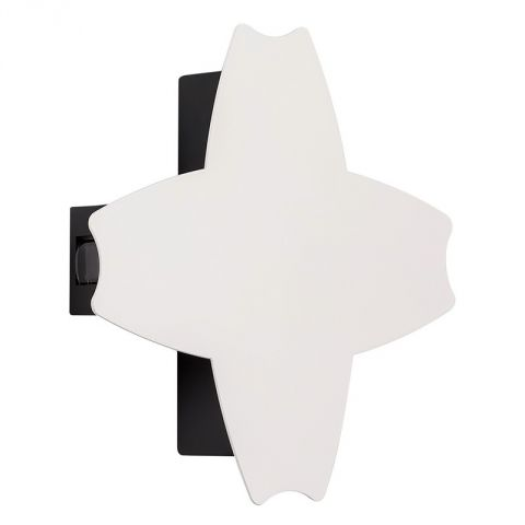 "Applique Métal LED ""Cross"" 20cm Blanc"