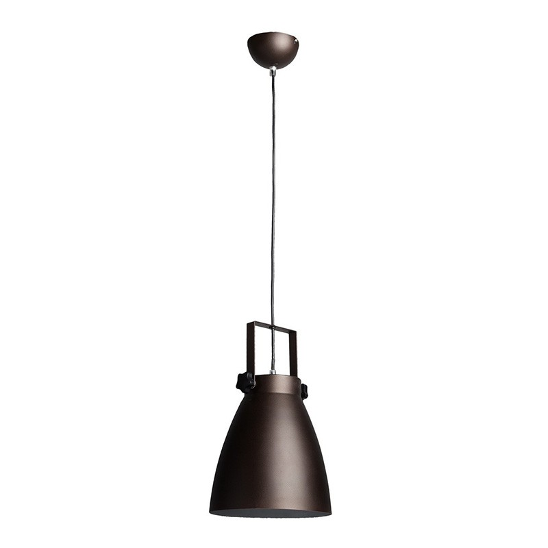 Lampe suspension m tal pop 21cm noir for Suspension metal noir