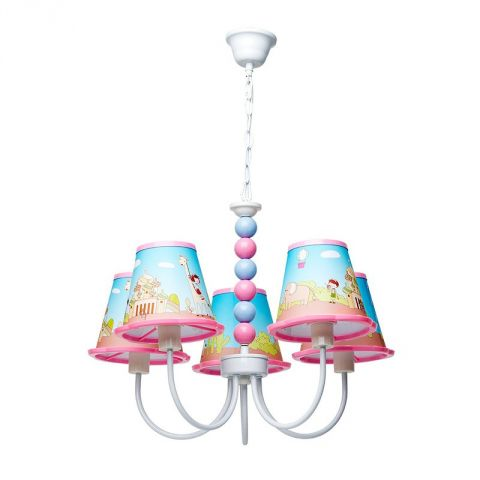 "Lampe Suspension Enfant ""Tripy"" Multicolore"