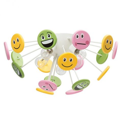"Plafonnier Enfant ""Smile"" Multicolore"
