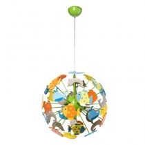 "Lampe Suspension Enfant ""Fishy"" Multicolore"