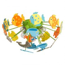 "Plafonnier Enfant ""Fishy"" Multicolore"
