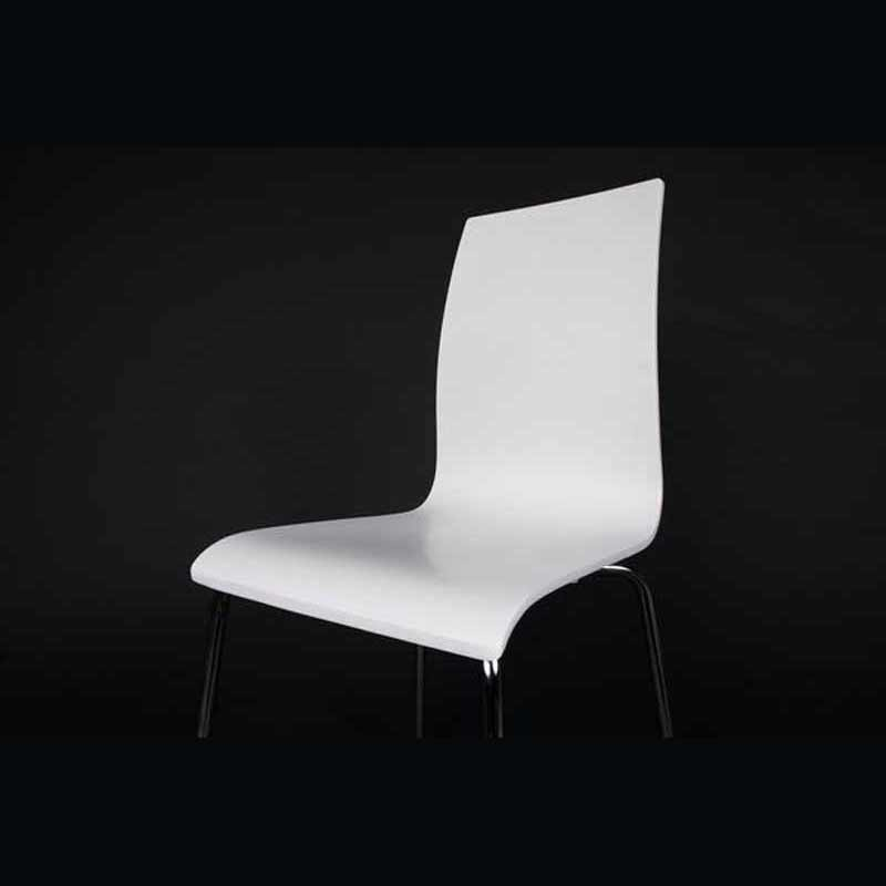 Chaise design tina blanche - Chaise blanche design ...